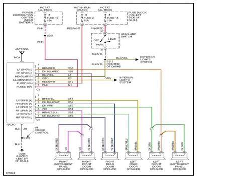 1999 dodge ram radio wiring diagram wiring forums