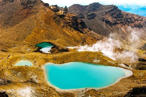 Emerald Lakes, NZ