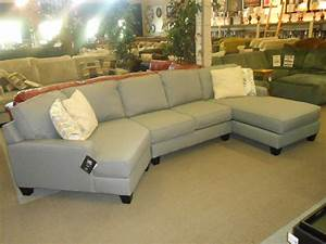 Spacious sectional sofa design with cuddler chaise in for Sectional sofa with cuddler and chaise