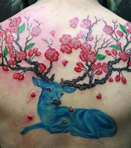 Fleur De Cerisier Tatouage : photo des branches de sakura cerisier fleuri du japon ~ Dode.kayakingforconservation.com Idées de Décoration