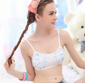 Wholesale Cotton Padded Training Bra For Girls Young ...