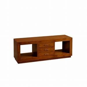 Meuble En Teck Pas Cher : meuble tv moderne en teck pas cher en vente chez origin 39 s meubles ~ Farleysfitness.com Idées de Décoration