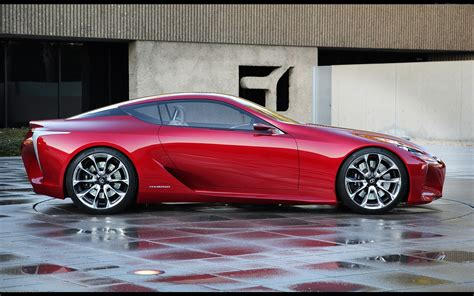 Cars Lexus Sports by Lexus Lf Lc Sports Coupe Concept 2012 Widescreen