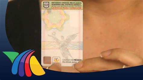 si鑒es de nuevas licencias de manejo en el df