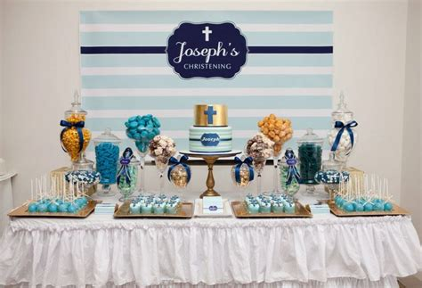 Baptism Decoration Ideas For Boy And by Boy Baptism Ideas Celebrations In The Catholic