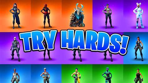 hard skins  fortnite ranking  fortnite