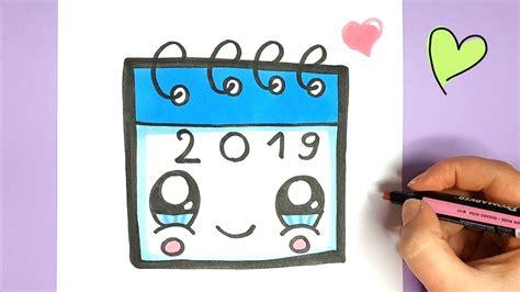 kawaii kalender malen einfach und suess youtube