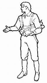 Pioneer Coloring Pages Template Woman Log Sketch Cabin Trek sketch template