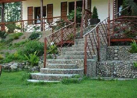 Wooden Handrails For Outdoor Steps - outside handrail ideas wooden handrails ideas wooden