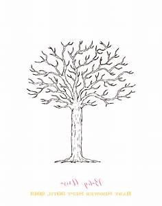 baby shower fingerprint tree template just bcause With baby shower thumbprint tree template