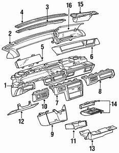 Oldsmobile Cutlass Supreme Compartment  1988 O Info