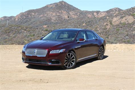 lincoln continental 2017 lincoln continental review autoguide com news