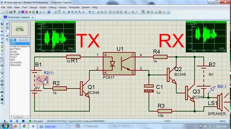 Voice Transmitter Receiver Circuit Youtube