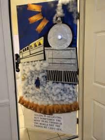 polar express door decoration at work door decorating