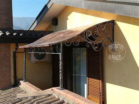 tettoia in ferro battuto tettoie tettoie in ferro battuto tettoia per terrazzo
