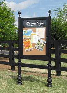 outdoor bulletin boards outdoor message board in stock With outdoor letter boards with posts