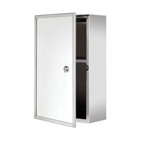 Lockable Medicine Cabinets Uk by Croydex Trent Lockable Medicine Cabinet Stainless Steel