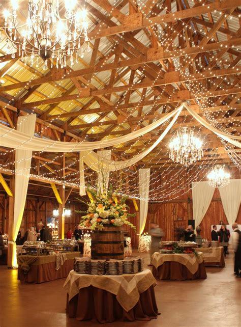 barn wedding ideas 30 indoor barn wedding decor ideas with lights