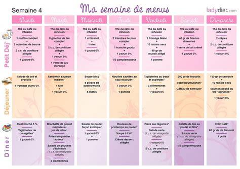 recette de cuisine en gratuit menus pour mincir sur une semaine ou pour un mois de regime