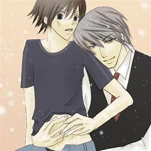junjou romantica images Misaki and Akihiko wallpaper and ...