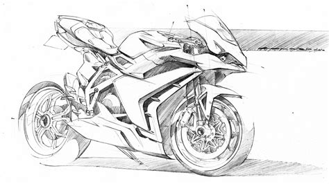 1000+ Images About Sketch • Motorcycle On Pinterest
