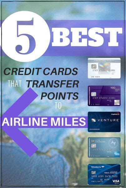 credit cards  transfer points  airline miles