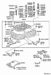 2001 Toyota Tundra Automatic Transmission Control Solenoid