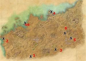 Alik'r Desert Treasure Map Locations Elder Scrolls