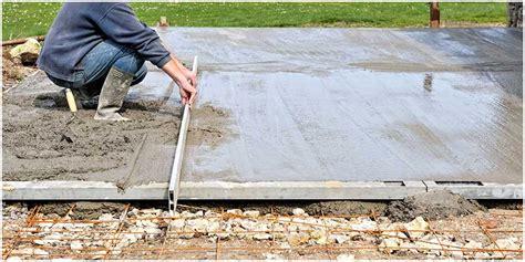comment faire une dalle en b 233 ton pour un abri de jardin pavex be