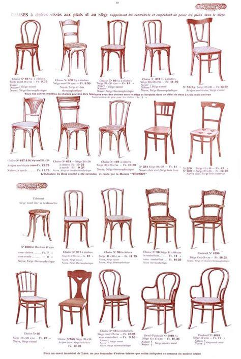 chaises thonet epok thonet page des chaises du catalogue thonet 1914