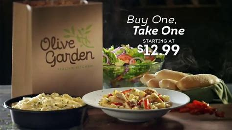 buy one take one olive garden olive garden buy one take one tv it s back