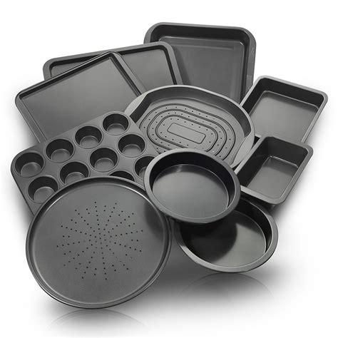 bakeware baking sets pans stick cake non nonstick kitchen chefland oven tray bake ware cookie amazon pan piece baker market