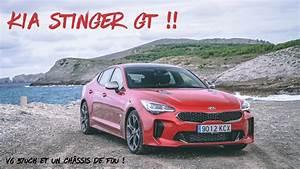 Kia Stinger Essai : essai kia stinger gt v6 370ch youtube ~ Maxctalentgroup.com Avis de Voitures