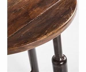 Barhocker Metall Holz : barhocker metall holz im industriedesign hocker metall sitzh he 75 cm barst hle barhocker ~ Indierocktalk.com Haus und Dekorationen