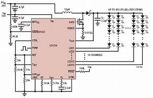 Lt3754 16 Channel Led Driver Circuit Diagram World