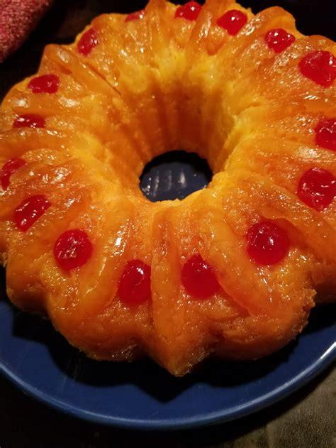 pineapple upside  bundt cake gag