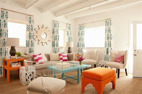 Orange Grey And Turquoise Living Room by Orange Blue And Grey Living Room Modern House