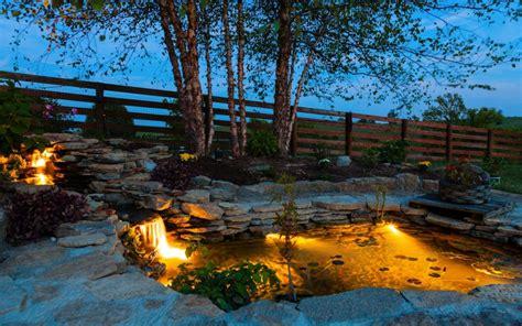 garden pond lighting ideas 25 backyard lighting ideas illuminate outdoor area to make it more beautiful home and
