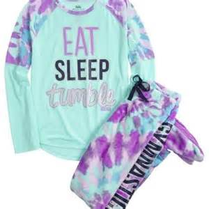 Justice for Girls Gymnastics Pajamas