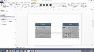 Visio 2013 Conceptual Data Modeling