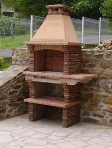 my barbecue barbecue en pierre artisan pr4010f With barbecue exterieur en pierre