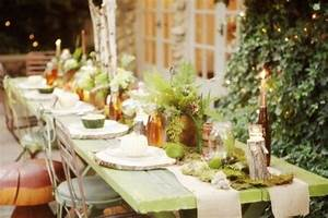 25 Beautiful Fall Wedding Table Decoration Ideas - Style