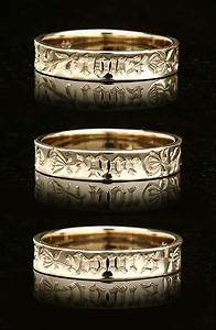 poesy ring traditional 39por tous jours39 french for With poesy wedding rings