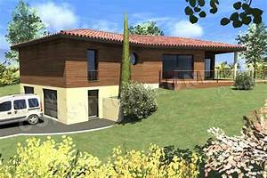 vente de plan de maison en v With plan de maison gratuit 4 maison cle sur porte mc411