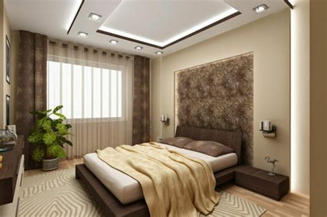 faux plafond chambre à coucher le faux plafond suspendu est une déco pratique pour l