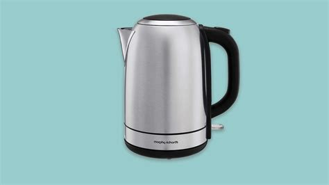 kettle cream richards morphy kettles boil jug stainless fast steel cuppa quiet plastic quick perfect budget