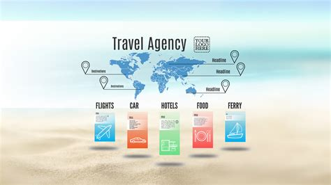 travel agency prezi template prezibase