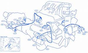 Nissan D21 1994 Compartment Electrical Circuit Wiring