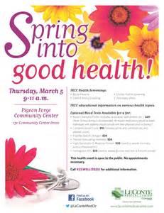 Health Fair Flyer