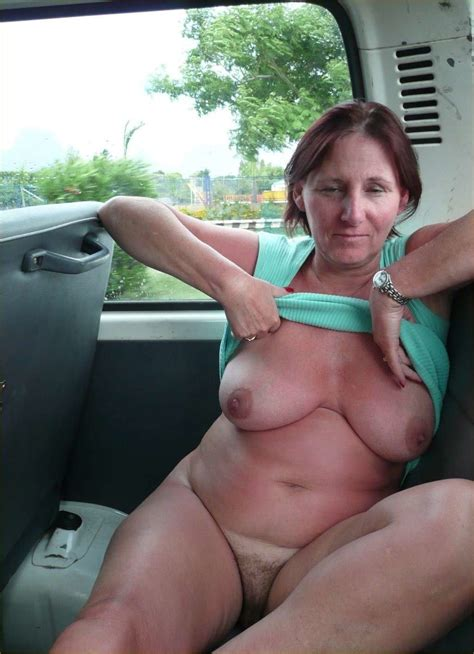 Older Women Ready For Sex Everywhere Even In A Car